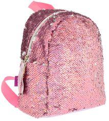 Акция на Рюкзак молодежный с пайетками Yes GS-02 Pink 0.2 кг 19х23х17 см 7 л (557651) от Rozetka