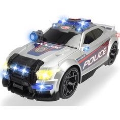 Акция на Автомобиль Dickie Toys Уличный патруль со звуковыми и световыми эффектами длина 33 см (3308376) от Allo UA