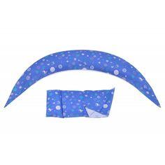 Акция на Набор из наволочки и мини-подушки Nuvita DreamWizard NV7101BLUE синий от Podushka
