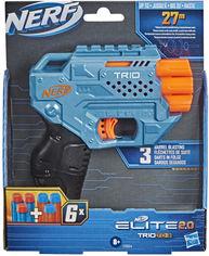 Акция на Бластер Hasbro Nerf Elite 2.0 Трио (E9954) от Rozetka