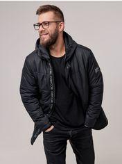 Акция на Куртка Riccardo ZD-02 XL (52) Черная (ROZ6400025507) от Rozetka