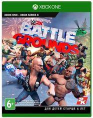 Акция на Игра WWE Battlegrounds (Xbox One, Английский язык) от MOYO