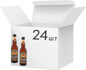 Акция на Упаковка сидра Magners Original яблочный 4.5% 0.33 л x 24 шт (5391516871372) от Rozetka