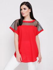 Блуза Fashion Up Verona BZ-1640B 42-44 Красная (3000000011775) от Rozetka