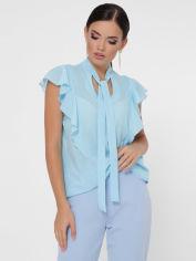 Блузка Fashion Up Peony BZ-1782A 44 Голубая (2100000175314) от Rozetka