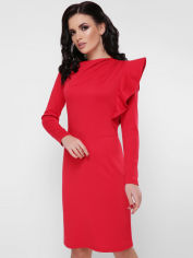 Платье Fashion Up Bella PL-1668C 44 Красное (FU2100000026500) от Rozetka