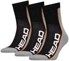Акция на Набор мужских носков HEAD Performance Short Crew 3P 781010001-235 43-45 р 3 пары Черный/Серый (8718824546636) от Rozetka