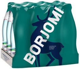 Упаковка минеральной лечебно-столовой сильногазированной воды Borjomi 0.33 л х 12 бутылок (4860019001292_4860019001339) от Rozetka