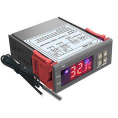 Акция на Контроллер температуры BauTech STC-3000 Цифровой 24V (1004-897-01) от Allo UA