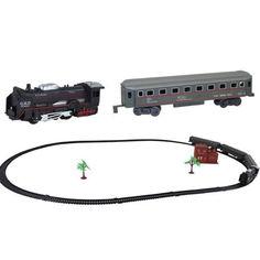 Акция на Железная дорога и поезд Train World В ретро стиле (1005-733-00) от Allo UA
