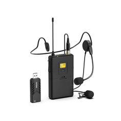 Акция на Микрофон петличка Firefly Fifine K031 UHF USB Приемник Беспроводной (1005-925-00) от Allo UA