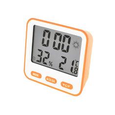 Акция на Термометр с гигрометром Thermo BK-854 Цифровой Оранжевый (1003-852-03) от Allo UA