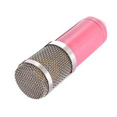 Акция на Конденсаторный микрофон Branches BM800 Для студии Розовый (1004-651-02) от Allo UA