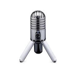 Акция на Конденсаторный микрофон Samson USB С аудио выходом для наушников Серебристый (1004-650-01) от Allo UA