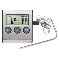 Акция на Термометр Gefu Кухонный до 300 °С Серебристый (1007-222-00) от Allo UA