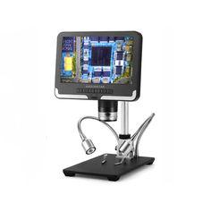 Акция на Микроскоп Andonstar AD206 С дисплеем для ремонта цифровой 500X (1007-579-00) от Allo UA