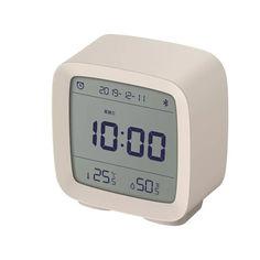 Акция на Часы Будильник BauTech Термометр Гигрометр Qingping Bluetooth Белый (1007-231-00) от Allo UA