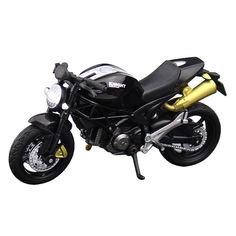 Акция на Модель мотоцикла Knight 1:18 Игрушка Черный (1005-932-00) от Allo UA