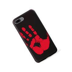 Акция на Термочувствительный чехол Ranipo Для смартфона iPhone 8 Plus Черный (1004-698-13) от Allo UA