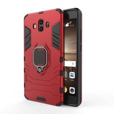 Акция на Чехол Ring Armor для Huawei Mate 10 Красный от Allo UA