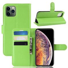 Акция на Чехол-книжка Litchie Wallet для Apple iPhone 11 Pro Green от Allo UA
