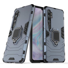 Акция на Чехол Ring Armor для Xiaomi Mi Note 10 / Mi Note 10 Pro / Mi CC9 Pro Blue от Allo UA