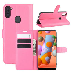 Акция на Чехол-книжка Litchie Wallet для Samsung Galaxy A11 A115 Rose от Allo UA