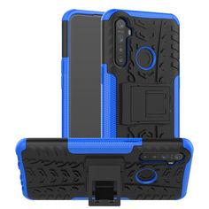 Акция на Чехол Armor Case для Realme 5 Blue от Allo UA