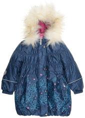 Акция на Зимнее пальто Lenne Estella 19334/2009 98 см Темно-синее (4741578394776) от Rozetka