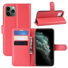 Акция на Чехол-книжка Litchie Wallet для Apple iPhone 11 Pro Red от Allo UA