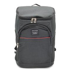 Акция на Термо рюкзак, рюкзак холодильник 18 литров черный от Allo UA