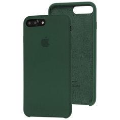 Акция на Чехол Silicone Case для Apple iPhone 7 Plus / 8 Plus Atrovirens Green от Allo UA