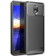 Акция на Чехол Carbon Case Nokia 1 Plus Черный от Allo UA
