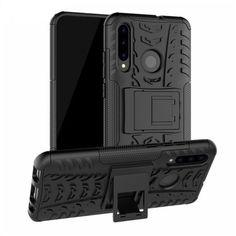 Акция на Чехол Armor Case для Huawei P Smart Plus 2019 / Honor 20 Lite Black от Allo UA