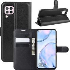 Акция на Чехол-книжка Litchie Wallet для Huawei P40 Lite Black от Allo UA