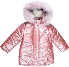 Акция на Зимняя куртка Evolution 33-ЗД-19 80 см Розовая (4823078565129) от Rozetka