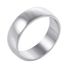 Акция на Обручальное кольцо из белого золота 000000307 17 размера от Zlato