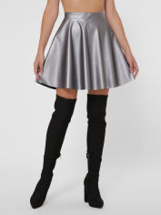 Юбка Fashion Up YUB-1007A XL (48) Серый металлик (2100000171262) от Rozetka