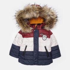Акция на Зимняя куртка Evolution 15-ЗМ-18 80 см Бордовая (4823078555762) от Rozetka