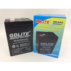 Акция на Аккумулятор GDLITE GD-645 6V 4.0Ah для весов от Allo UA