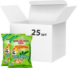 Акция на Упаковка фисташек От Мартина 40 г х 25 шт (4850005202062) от Rozetka