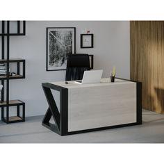 Акция на Компьютерный стол Skandi Wood SW115 Оклахома 120 х 80 х 75 см МДФ+Шпон Дуб Белый (SW11512875WhOMDF) от Allo UA