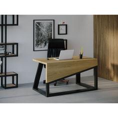Акция на Компьютерный стол HYGGE HG104 Фредеріксберг 135 х 80 х 75 см ДСП Дуб Светлый (HG10413875RhOPar) от Allo UA