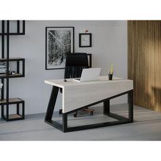 Акция на Компьютерный стол HYGGE HG104 Фредеріксберг 120 х 80 х 75 см ДСП Дуб Белый (HG10412875whOPar) от Allo UA
