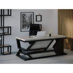 Акция на Компьютерный стол HYGGE HG114 Роскілле 135 х 80 х 75 см ДСП Дуб Серый (HG11413875ClOPar) от Allo UA