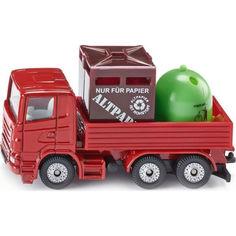 Акция на Грузовик Siku с кузовом для мусора (828) от Allo UA