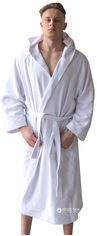 Акция на Халат махровый Sleeper Set Men's Bath Robe SS-WMBR S-M White (ROZ6205003874) от Rozetka