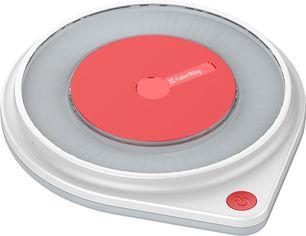 Акция на Беспроводное зарядное устройство СolorWay Qi Fast Charger (10W) с LED ночником White (CW-CHW20Q-WT) от Rozetka