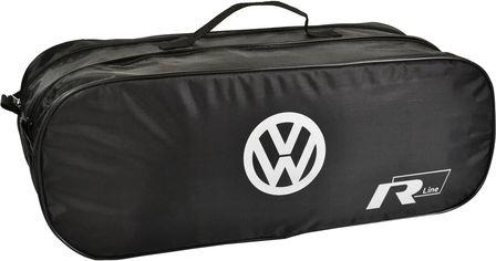 Акция на Сумка-органайзер в багажник Фольксваген Р-лайн черная размер 50 х 18 х 18 см (03-111-2Д) от Rozetka