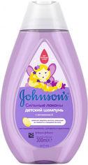 Акция на Johnson's Baby Strenght Drops Детский шампунь для волос с витамином Е 300 ml от Stylus